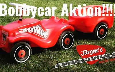Bobbycar Aktion!!!